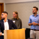 Swedtrains praktikanter håller presentation